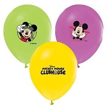 Mickey Baskýlý Balon – 30 cm 10 Adet