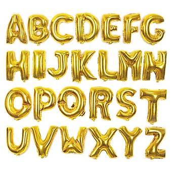 Harf Folyo Balon - 1 metre 40 Ýnc Gold Renk