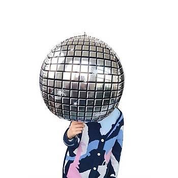 Disco Topu Folyo Balon 55 cm