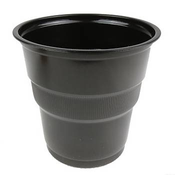 Siyah Plastik Bardak 25'li