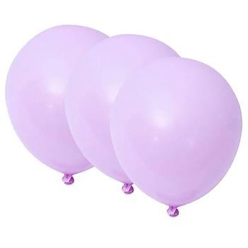 Lila Makaron Balon - 100 Adet