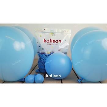 Açýk Mavi Dekorasyon Balonu 12 inc – 30 cm 100 Adet