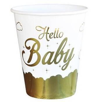 Hello Baby Varak Baskýlý Bardak 6'lý
