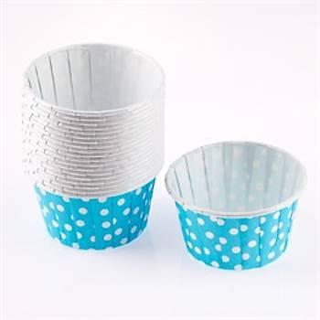 Mavi Cup Cake Muffin Kabý 50 Adet