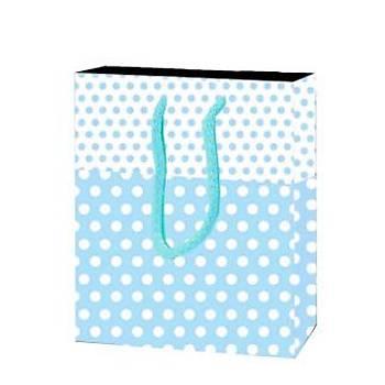 Mavi Karton Çanta 12-17 cm - 25 Adet