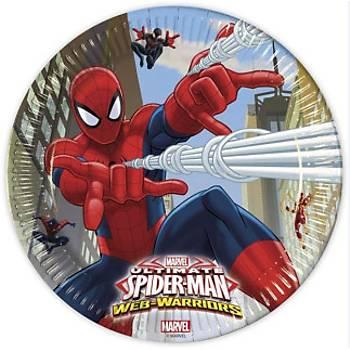 Spiderman Lisanslý Karton Tabak 8'li