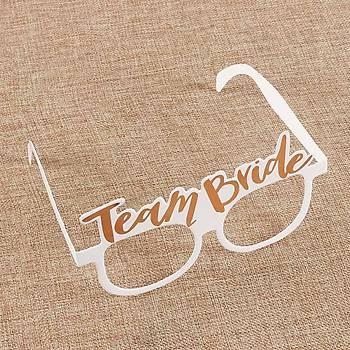 Team Bride Karton Gözlük 10 Adet