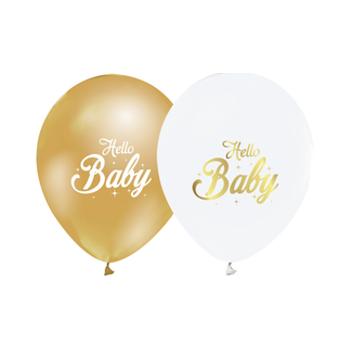 Baby Baskýlý Balon – 30 cm 10 Adet