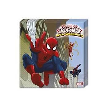 Lisanslý Spiderman Peçete 16'lý
