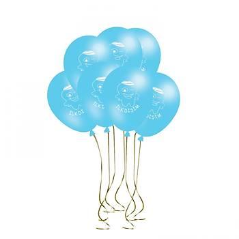 Mavi Ýlk Diþ Balonu – 30 cm 100 Adet