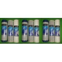 9 lu filtre seti çift karbonlu su arýtma cihazlarý filtresi su arýtma cihazlarý