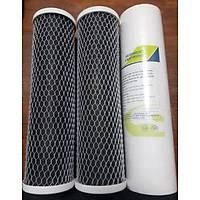 Akvaryum Su arýtma için 3 lü filtre seti Su Arýtma Cihazý çift karbonlu Kaliteli