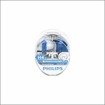 Far Ampul Seti H4 12V 60/55W Diamond Vision Philips