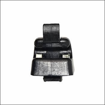Güneþlik Braketi Ayaðý Siyah  1268100012  Mercedes W123 W124 W126 W140 W201 W463