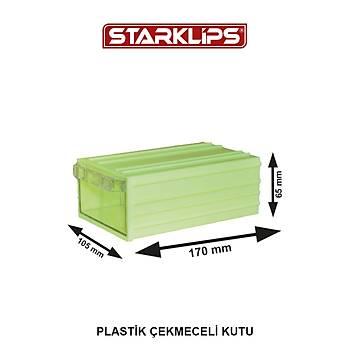 Plastik Çekmece 105X6,5X170mm Sk Sarý 10 Adet
