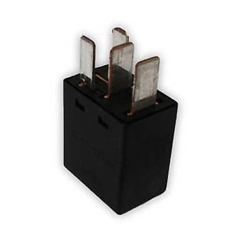 4 Ayaklý Mikro Röle Siyah 12V Tyco-A 2 Adet