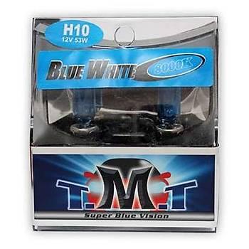 Ampul Seti H10 12V 5000K Beyaz Işık TMT