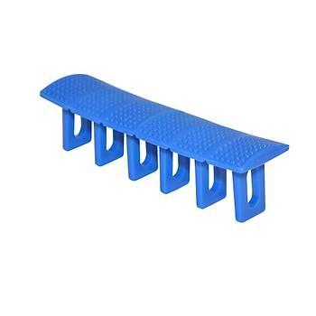 Boyasýz Göçük Düzeltme Plastiði Mavi 6 Lý