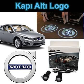 Kapý Altý 3D Hayalet LED Logo Volvo