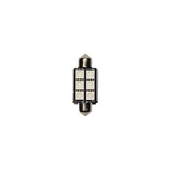 Sofit Ampul 6 LED Amber 12V Can Bus 2 Adet