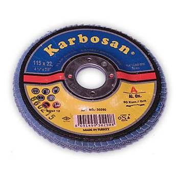 Flap Disk Zýmpara 22X115 P40 Karbosan 2 Adet