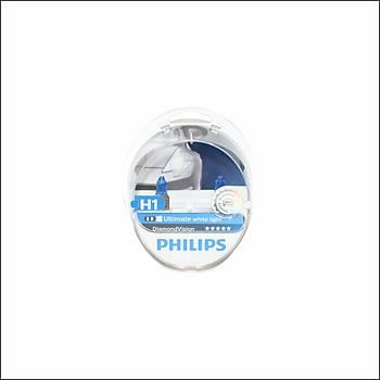 Far Ampul Seti H1 12V 5W Diamond Vision Philips
