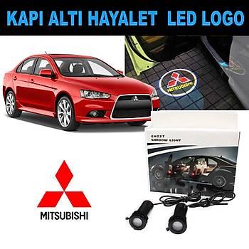 Kapý Altý 3D Hayalet LED Logo Mitsubishi