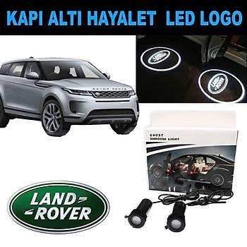 Kapý Altý 3D Hayalet LED Logo Land Rover