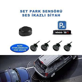Set Park Sensörü Ses Ýkazlý Siyah 22mm Forza Ps-01