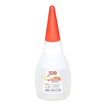Genel Amaçlý Hýzlý Yapýþtýrýcý Quýckstar Super Glue 520 4 Adet