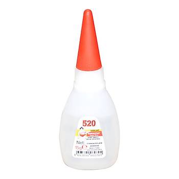 Genel Amaçlý Hýzlý Yapýþtýrýcý Quickstar Super Glue 520 4 Adet