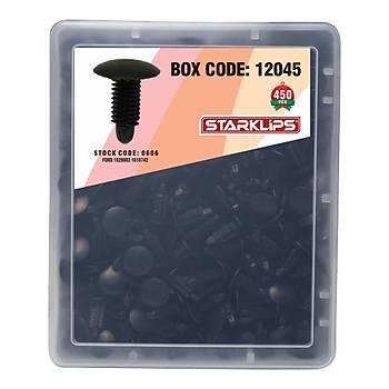 Set Kutu Klips Siyah 8 5X22X18 3 Ford 1629082 1618742 450 Parça