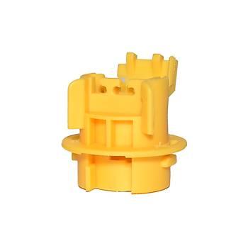 Plastik Kablosuz Soket S11 4 Adet