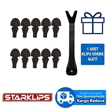 Depo Kapak Tutucu Universal Klips 352839 Ford 10 Adet