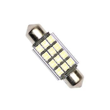 Sofit Ampul LED Beyaz 12V 12 LED 39Mm Can Bus 2 Adet