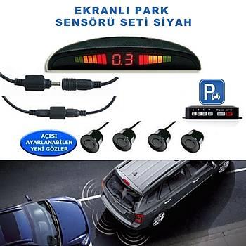 Ekranlý Park Sensörü Seti Siyah 18Mm Tetra 1004009