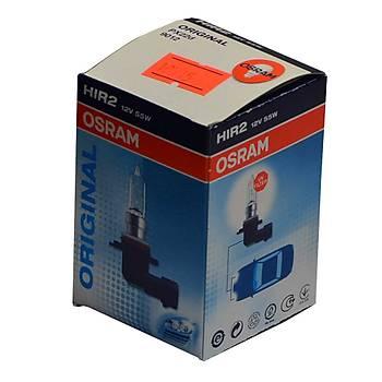 Plastik Soketli Ampul 12V 55W HIR 2 Osram 9012