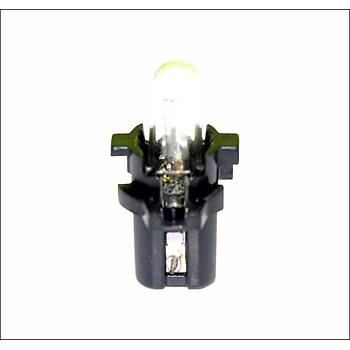 Gösterge Ampulu Siyah 12V 1.2W MF6 T5 2 Adet