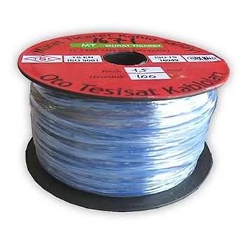 Kalaylý Kablo Çiftli Siyah-Kýrmýzý 2X1 5Mmx100Mt Erm