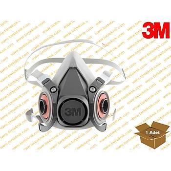 3M 6200 Yarým Yüz Maske