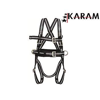 KARAM KP42 FR Alev ve Kaynaða Dayanýklý Emniyet Kemeri ( ÝTHAL )