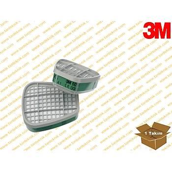 3M™ K1 Gaz ve Buhar Filtresi 6054