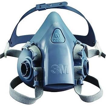 3M 7502 Yarým Yüz Maskesi (Orta Boy)