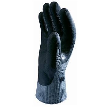 Showa - 310 Black Koruyucu Eldiven Polyester / Pamuk Astar Avuç Ýçi Lateks Kaplý