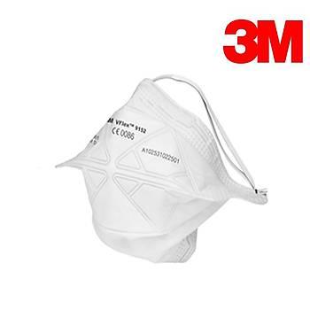 3M 9152E Ventilsiz Toz Maskesi FFP2 ( N95 ) VFLEX