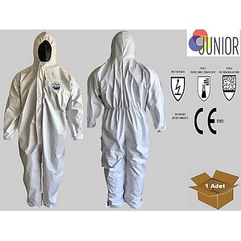 Tek Kullanýmlýk Tulum   TYPE 5 / 6 COVERALL CAT.III JN2020 JUNIOR