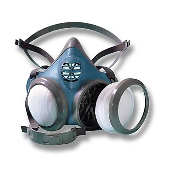 Yarım Yüz Maske 4000 P 2 Toz Filitreli