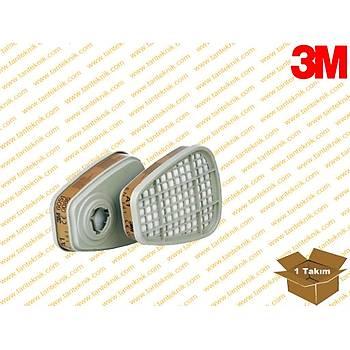 3M™  A1 Gaz ve Buhar Filtresi 6051