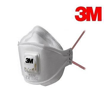 3M 9332+ Ventilli Toz ve Duman Maskesi FFP3 NR D