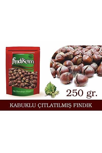 KABUKLU ÇITLATILMIÞ FINDIK 250gr